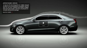 Car of the year winner, Cadillac ATS