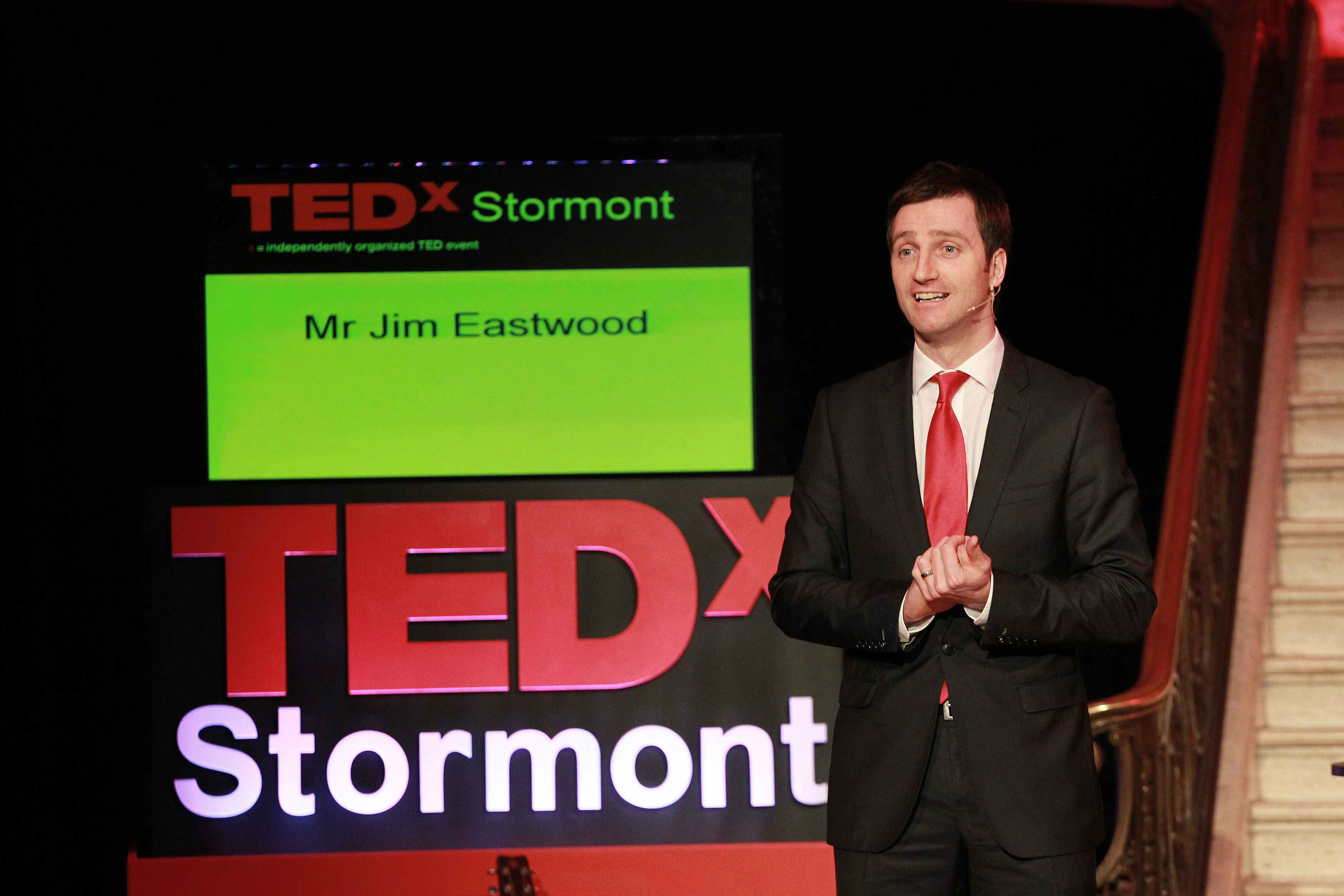 Jim Eastwood, talking about potential at TEDxStormont